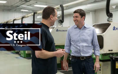 Congressman-elect Bryan Steil arrives on Capitol Hill, begins work to replace Paul Ryan