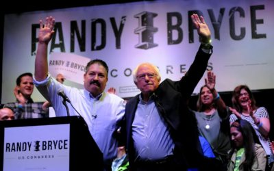 Steil Campaign on Bernie Sanders Campaigning for Randy Bryce